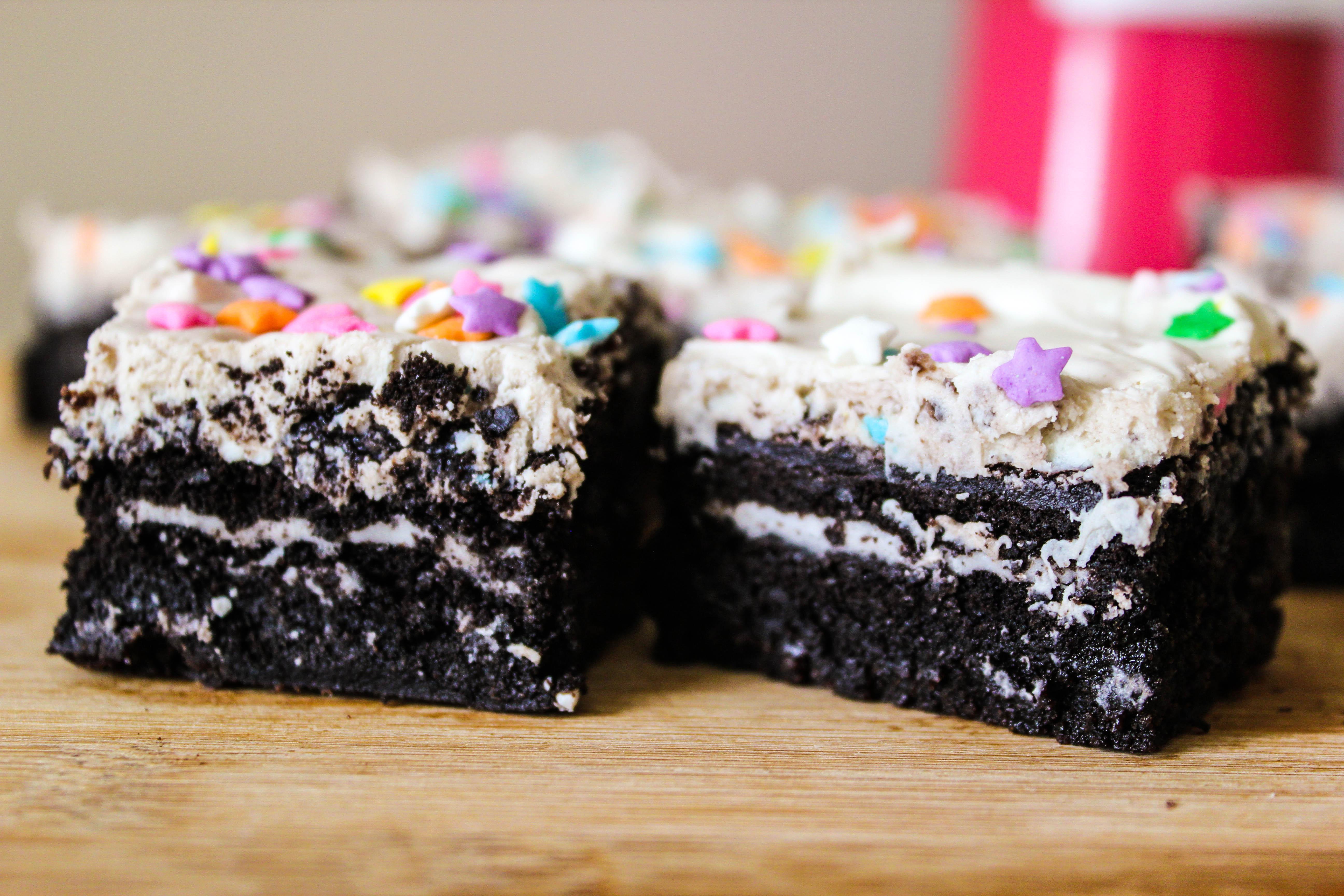 Fudgy Cookies N Cream Oreo Brownies Sally S Baking Addiction